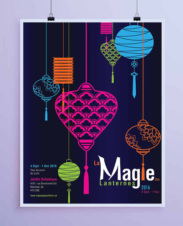 Magie des Lanternes Poster
